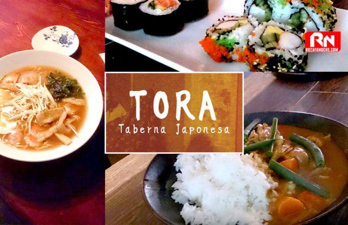Tora comida japonesa en ruzafa